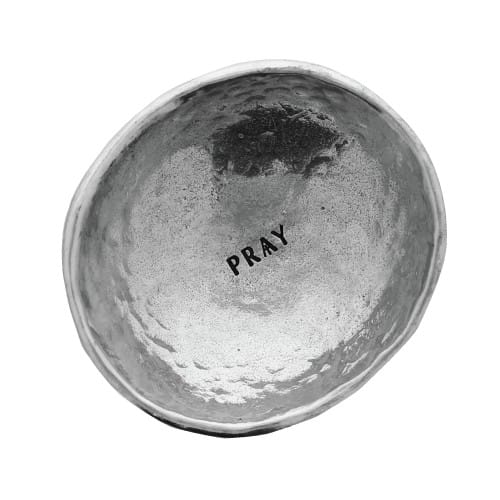PRAY Pewter Dish