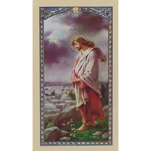 Prayer for a Retreat - Prayer Card