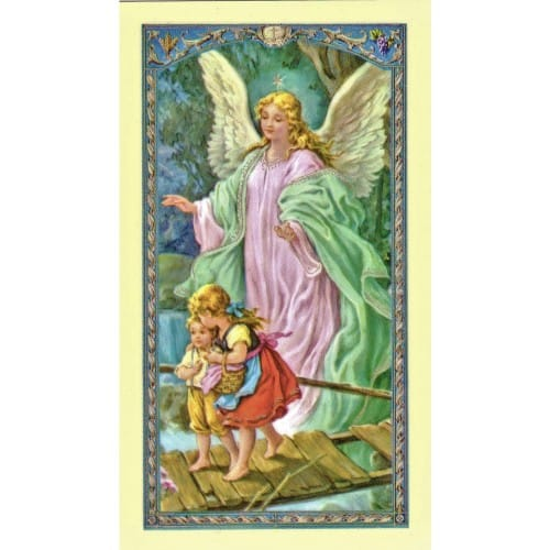 Prayer to Guardian Angel-Prayer Card