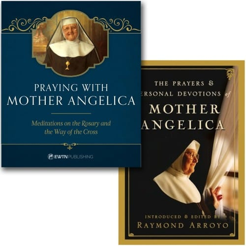 Praying with Mother Angelica & The Prayers and Personal Devotions of Mother Angelica (2 Book Set)