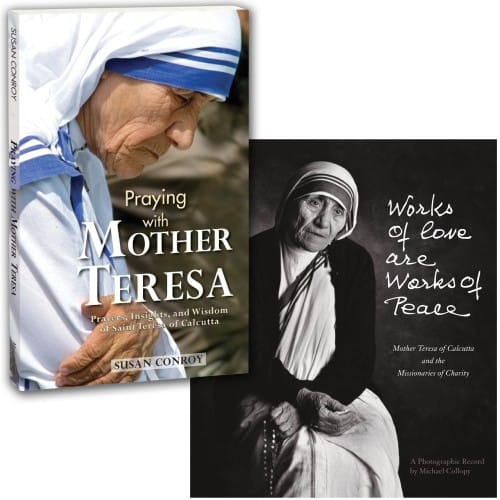 Praying With Mother Teresa & Works Of Love Are Works of Peace (2 Book Set)