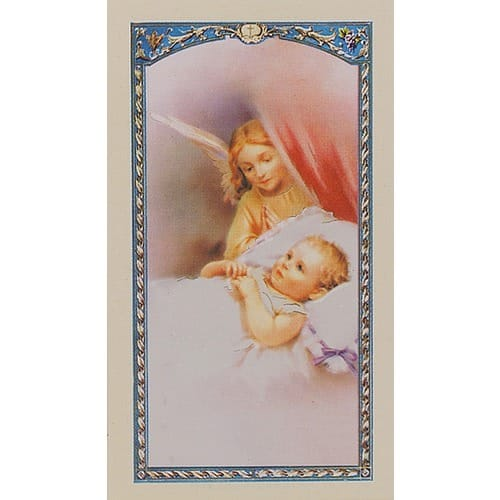 Precious Little Baby - Prayer Card
