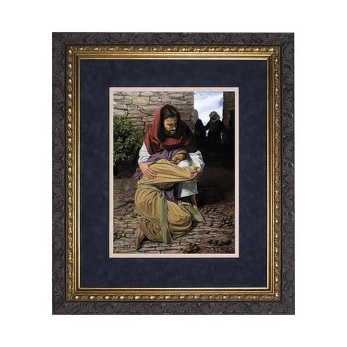 A Prodigal Daughter (Matted w/ Dark Ornate Frame)