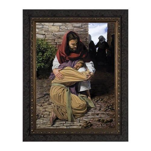 a prodigal daughter w dark ornate frame the catholic company. Black Bedroom Furniture Sets. Home Design Ideas