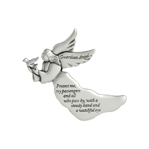 Protect Me, My Passengers Angel Visor Clip