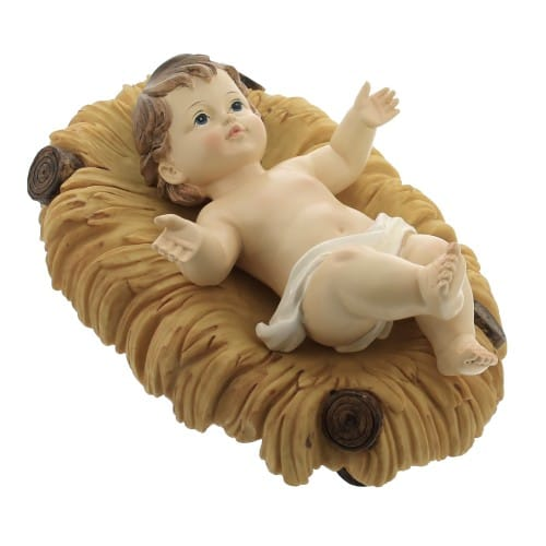 Removable Infant Jesus With Crib, 10