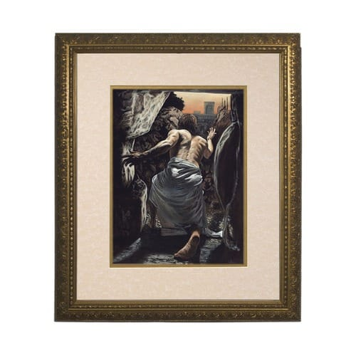 The Resurrection (Matted w/ Gold Frame)