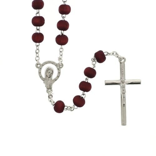 Rose-Scented Red Wood Rosary