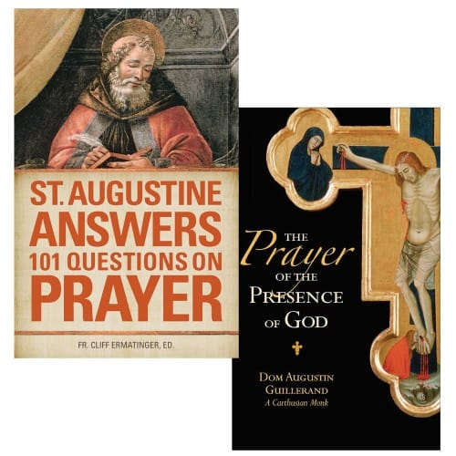 St. Augustine Answers 101 Questions On Prayer & The Prayer of the Presence of God (2 Book Set)