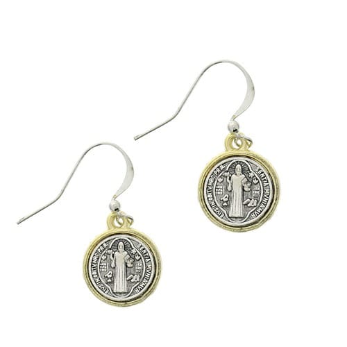 St. Benedict Drop Earrings