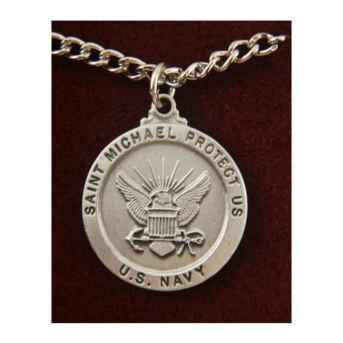 Saint Michael US Navy Medal<!militmed>