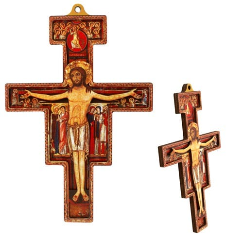 San Damiano Two Dimensional Cross The Catholic Company