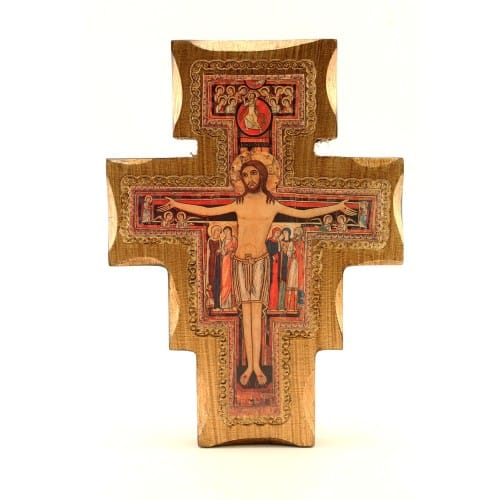 San Damiano Cross - 8 inch