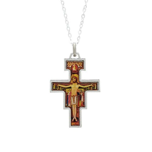 San Damiano Crucifix Necklace