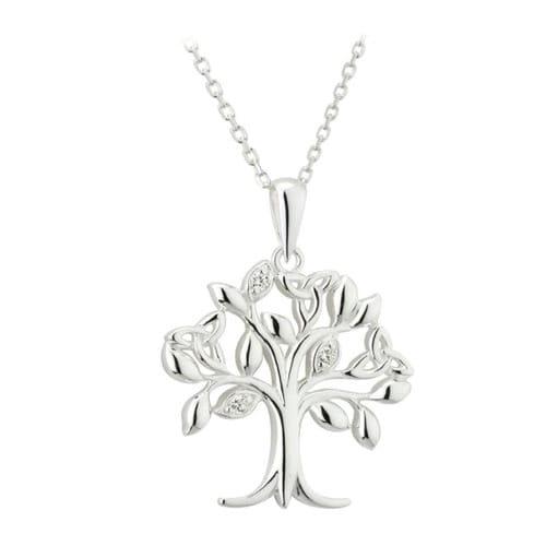 Silver tree of life pendant the catholic company silver tree of life pendant aloadofball Images
