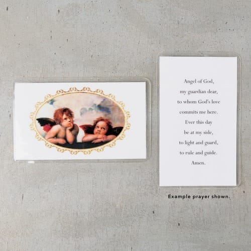 Sistine Cherubs Personalized Prayer Cards