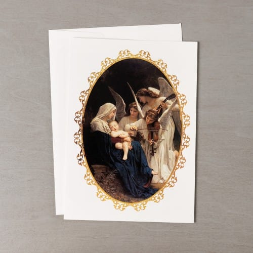 Song of the angels christmas cards set of 20 the catholic company song of the angels christmas cards set of 20 m4hsunfo