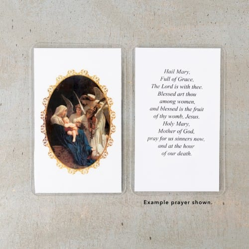 Song of Angels Personalized Prayer Cards