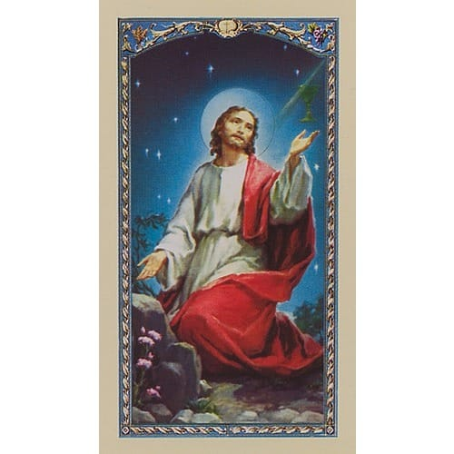 Spiritual Communion - Prayer Card