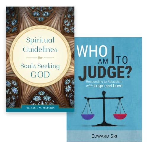 Who Am I to Judge? & Spiritual Guidelines for Souls Seeking God (2 Book Set)