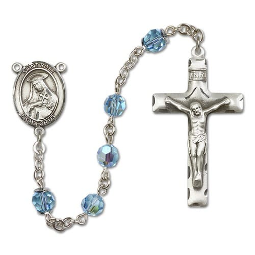 SS Aqua Blue March St. Rose of Lima Rosary