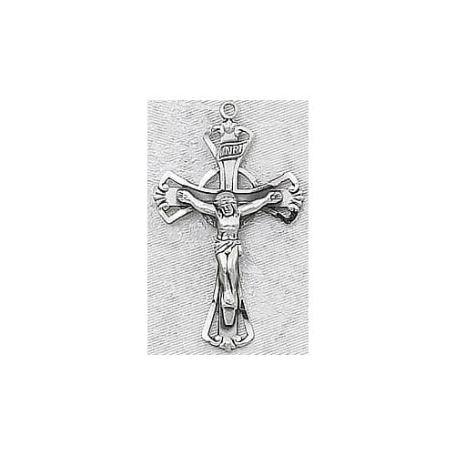 Sterling Silver Crucifix on 18 inch chain