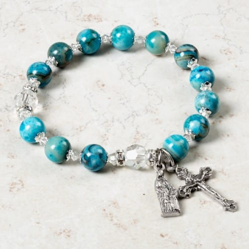 St. Anne Mother's Rosary Bracelet