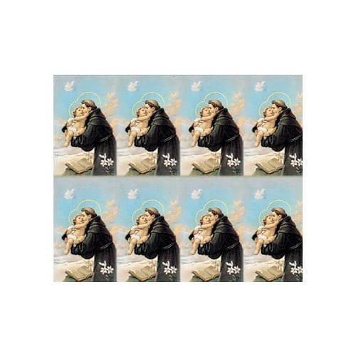 St. Anthony Personalized Prayer Card (Priced Per Card)