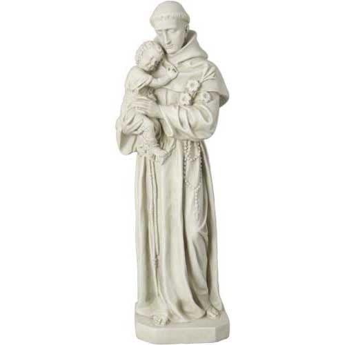 St. Anthony with Child Statue