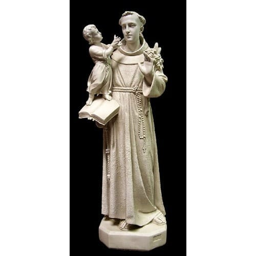 St Anthony With Child Statue