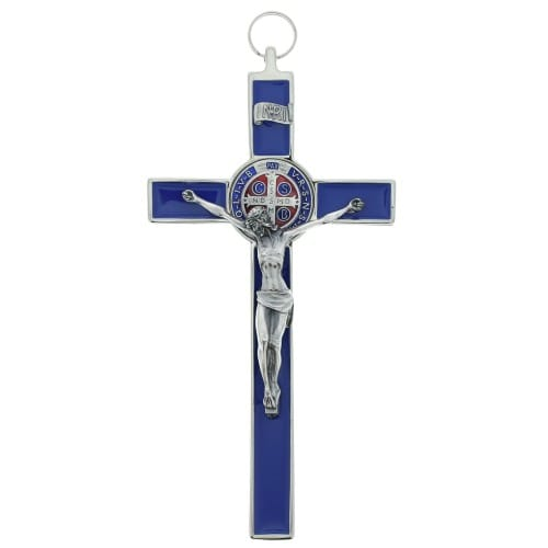 St. Benedict Enamel Crucifix