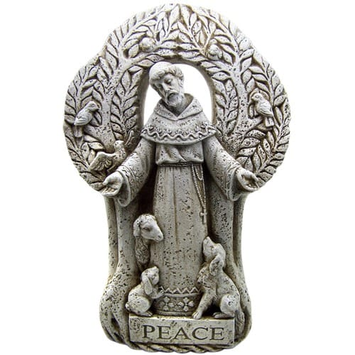 Beautiful St. Francis of Assisi Outdoor Garden Statues | The Catholic Company SG88