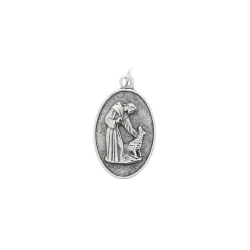 St. Francis Pet Medal - Oval