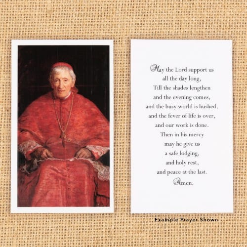 St. John Henry Newman Personalized Prayer Card