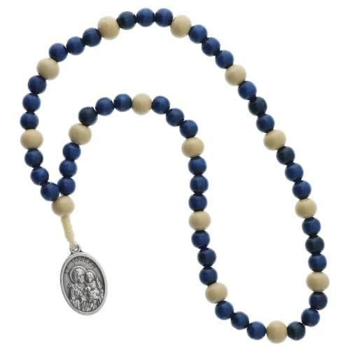 St. Joseph Chaplet, Blue Wood