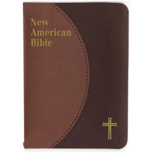 St. Joseph NAB Brown Personal Size Gift Edition Bible