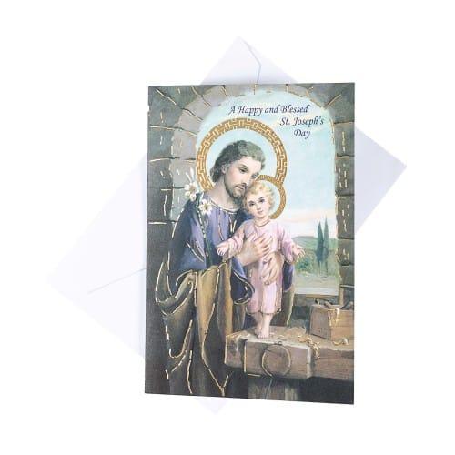St josephs day greeting card the catholic company st josephs day greeting card m4hsunfo