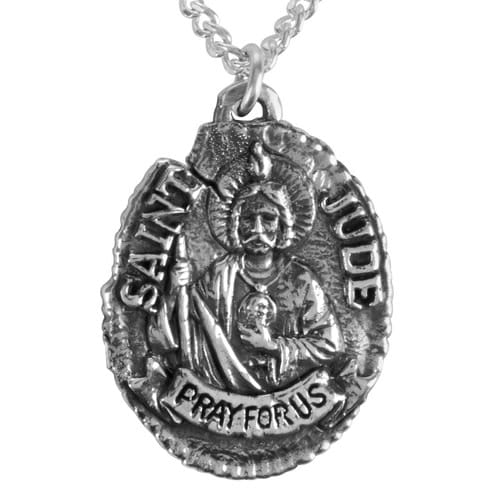 St jude vintage medal the catholic company st jude vintage medal mozeypictures Gallery