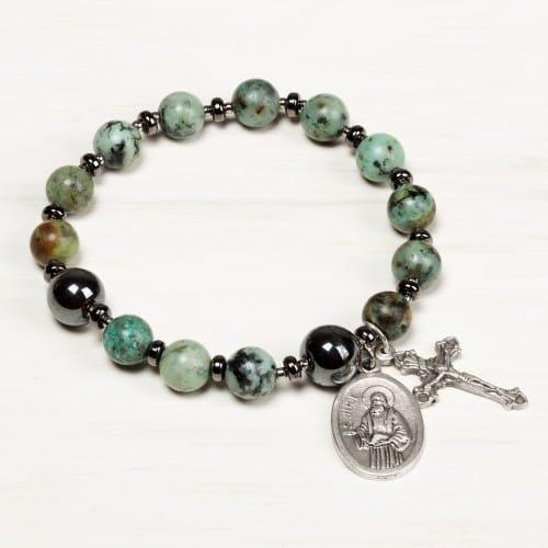 St Jude Rosary Bracelet The Catholic Company