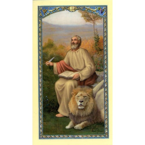 St. Mark - Prayer Card