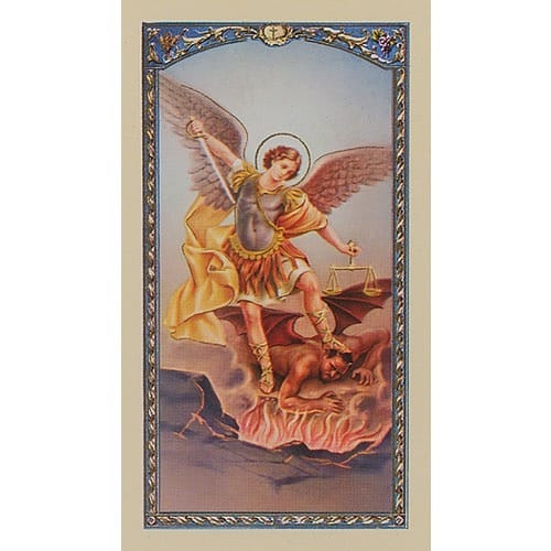 St. Michael Archangel - Prayer Card