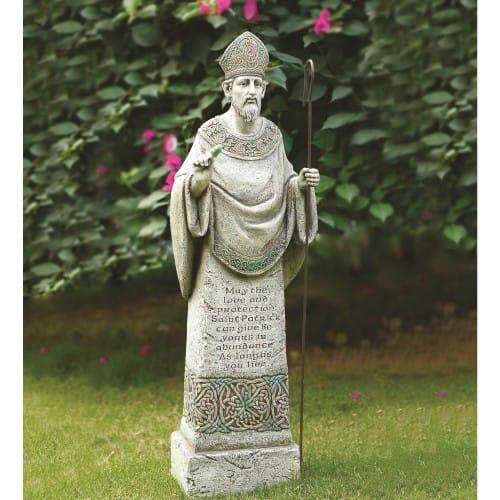 St Patrick Garden Statue 26 5 The Catholic Company
