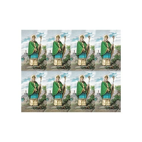 St. Patrick Personalized Prayer Card (Priced Per Card)