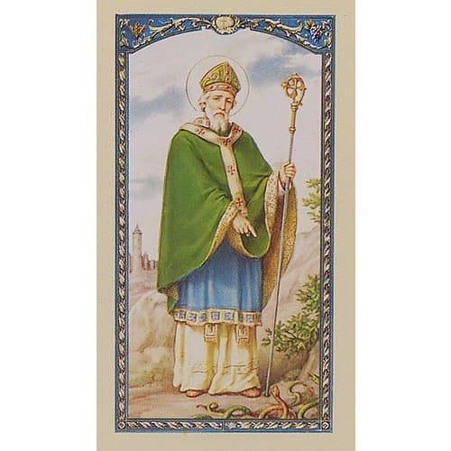 St. Patrick - Prayer Card