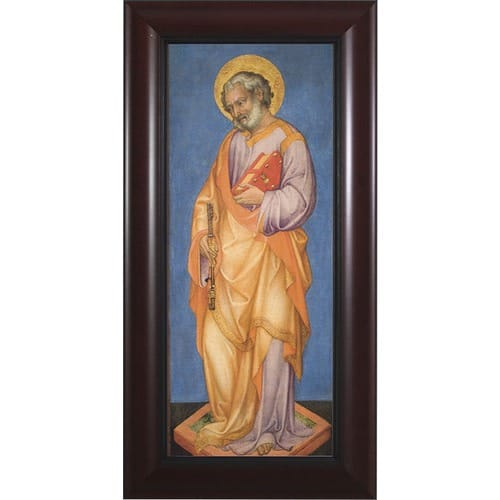 St. Peter w/ Cherry Frame