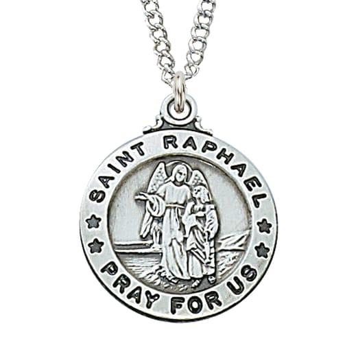 0b389173a9d St. Raphael Patron Saint Medal | The Catholic Company