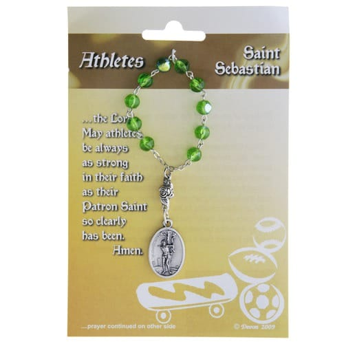 St. Sebastian & St. ChristopherDecade Rosary for Athletes