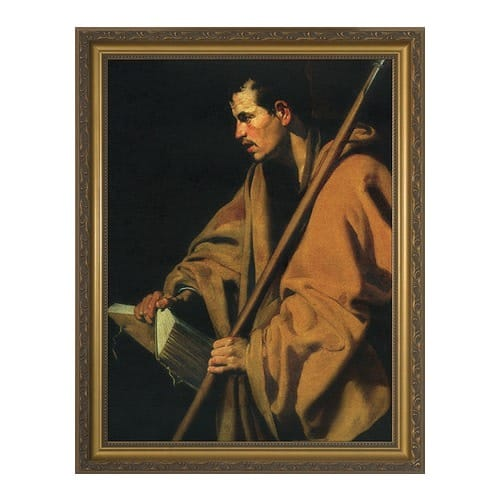 St. Thomas the Apostle w/ Gold Frame