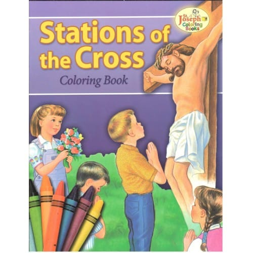 The Stations Of Cross Coloring Book