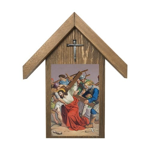 Stations of the Cross Shrine Set